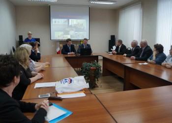 Встреча с партийным активом Харовского района