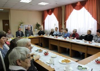 Встреча с ветеранами Усть-Кубинского района