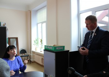 Выход в новый офис Фонда капремонта в Череповце