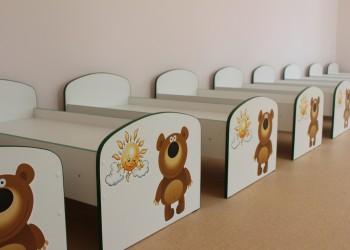 Осмотр строящегося детского сада в Устюжне