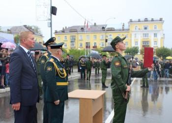 Присяга курсантов Череповецкого военного училища