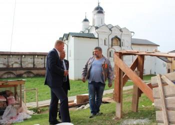 Реставрация Кирилло-Белозерского музея-заповедника