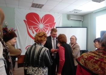 Информационные встречи с ветеранами. Вологда и Череповец