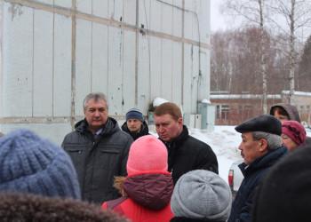 Встреча с жителями п. Шайма Череповецкого района