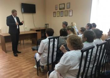 Встречи с избирателями и прием граждан в Белозерске